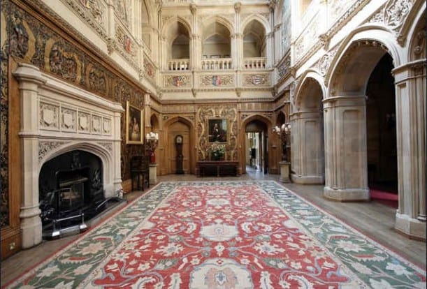 Highclere-Castle-hall